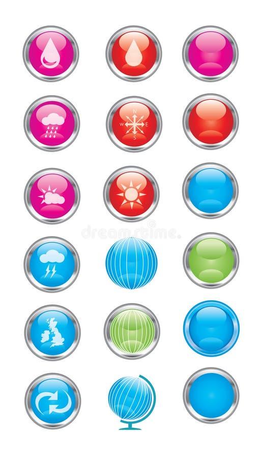 Środowisko znaki i symbol ikony zdjęcie royalty free