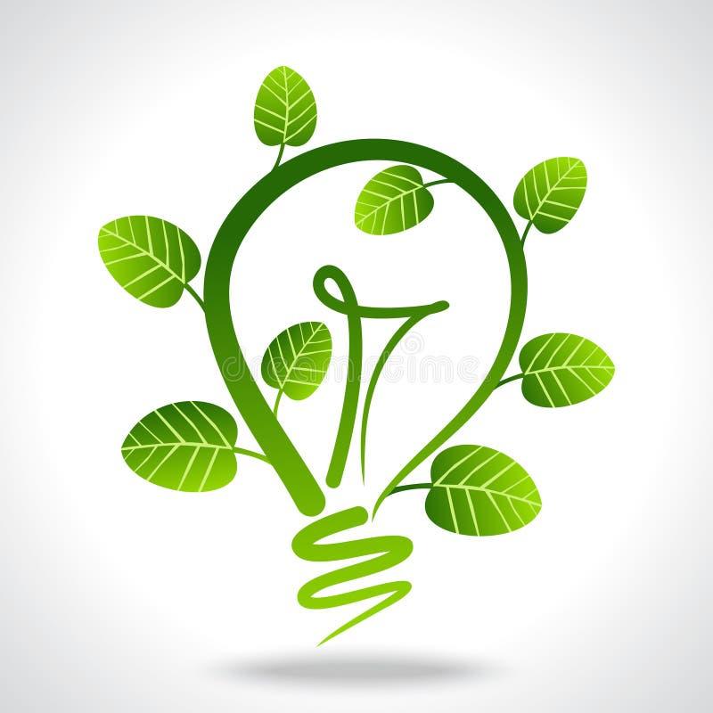 Środowiskowy życzliwy pojęcie z władzą ilustracja wektor