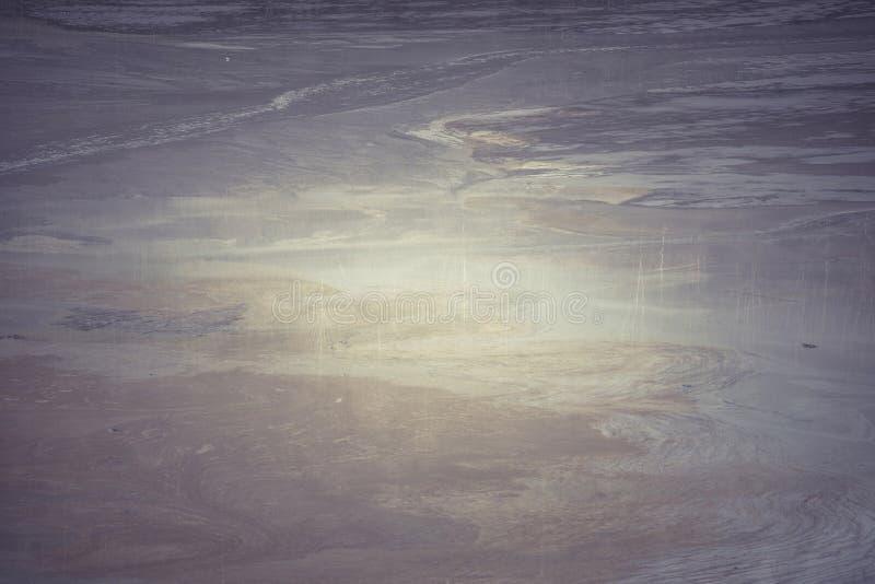 Środowiskowy kontaminowanie z górniczymi substancjami chemicznymi fotografia stock