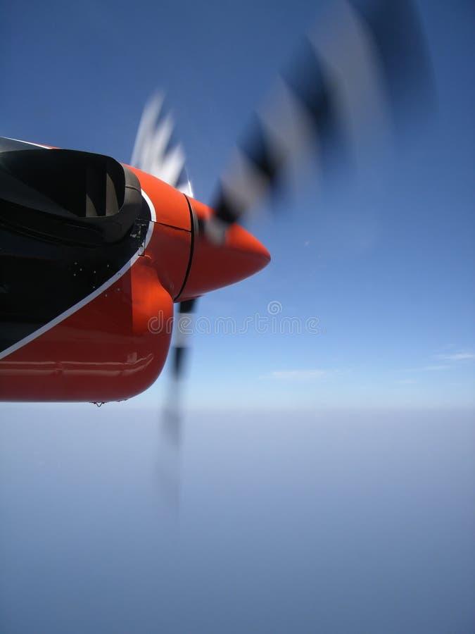 śruby samolotowego spin fotografia stock