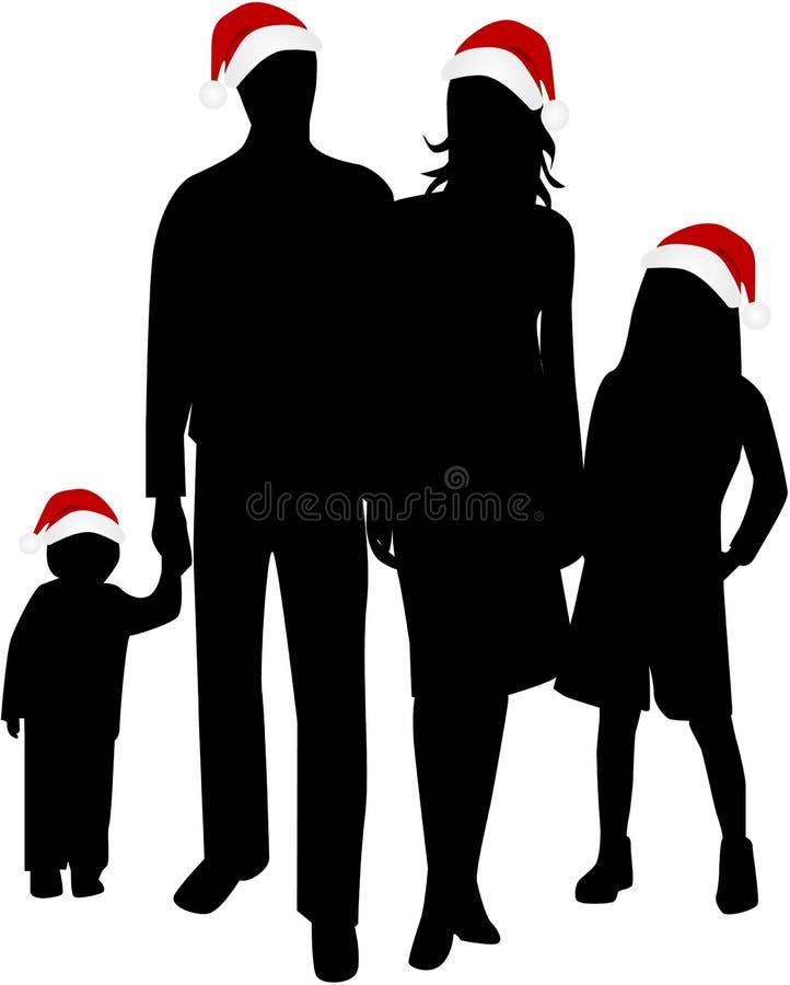 świąt rodzinnych ilustracji