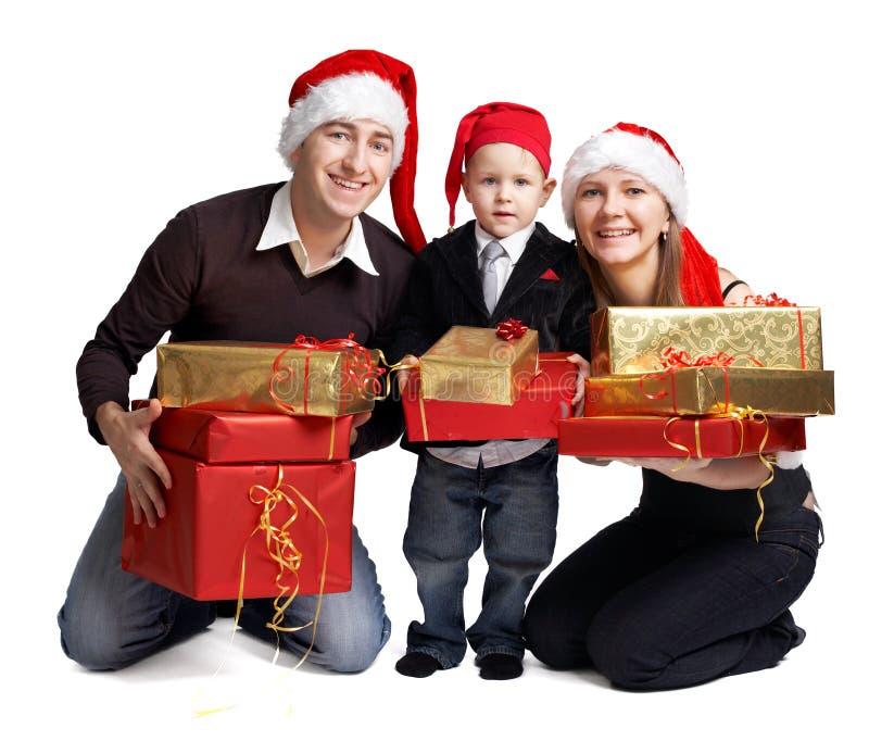 świąt rodziny fotografia stock