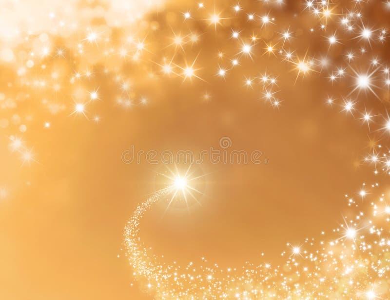 Świąteczny szczęsliwej gwiazdy tło ilustracji
