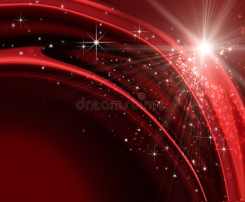 świąteczny tło wakacje royalty ilustracja