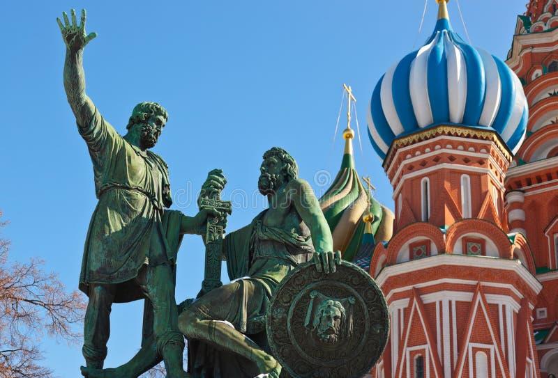 Świątobliwa basil katedra na placu czerwonym, Moskwa fotografia royalty free