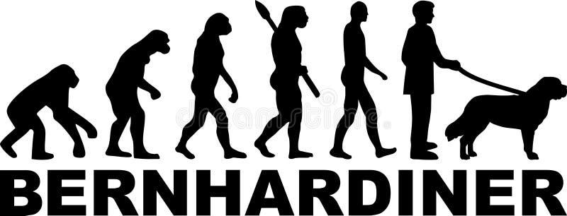 Świątobliwa Bernard ewolucji niemiec ilustracja wektor