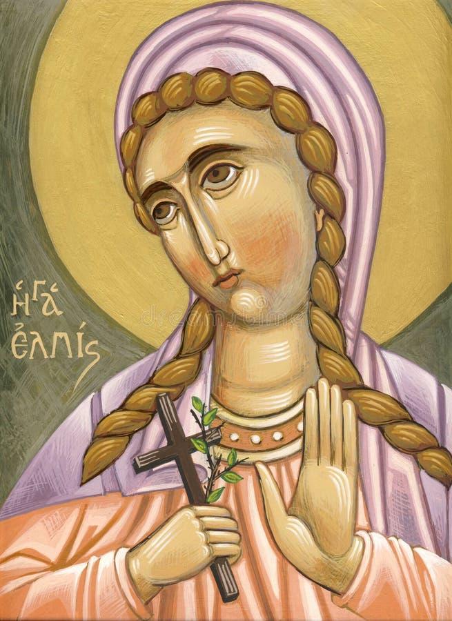 Świątobliwa nadzieja, Agia Elpis/ ilustracja wektor
