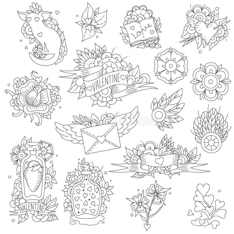 Świątobliwa walentynka royalty ilustracja