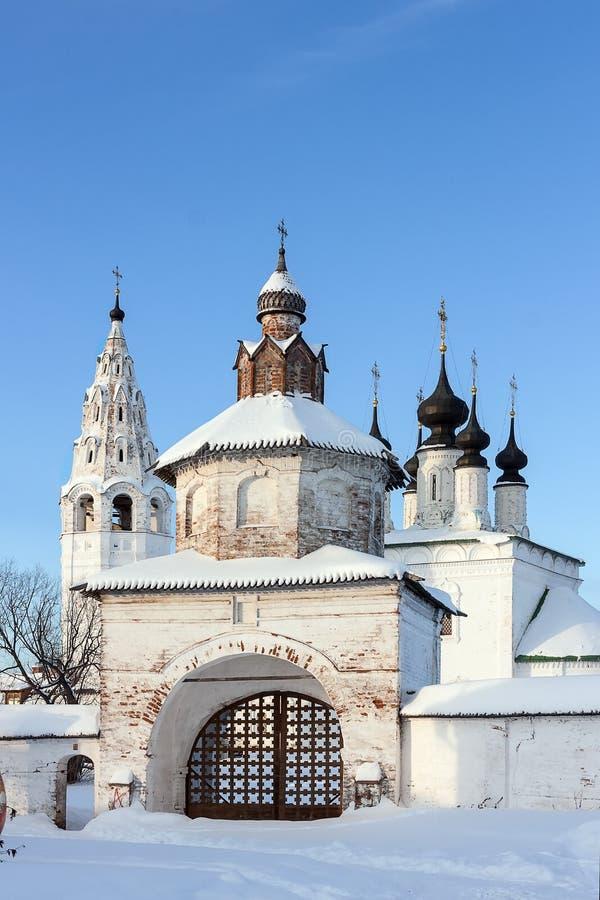 Świątobliwy Aleksander klasztor, Suzdal, Rosja fotografia stock