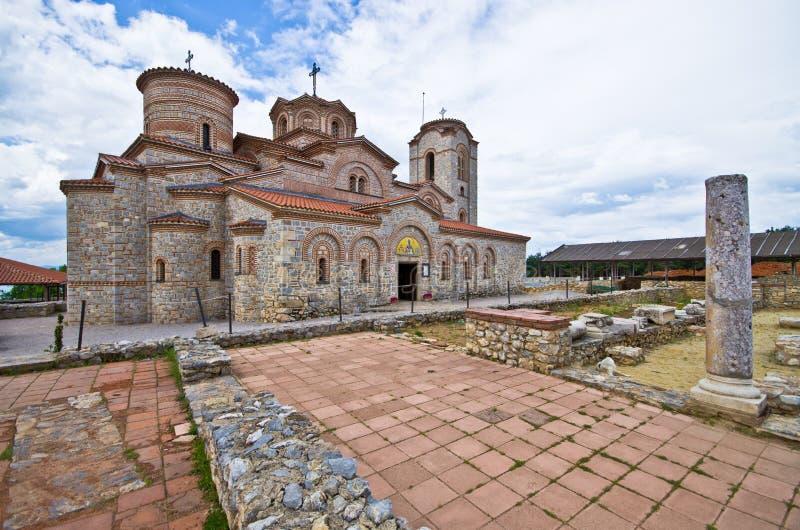 Świątobliwy Clement kościół w Ohrid, Macedonia obrazy royalty free