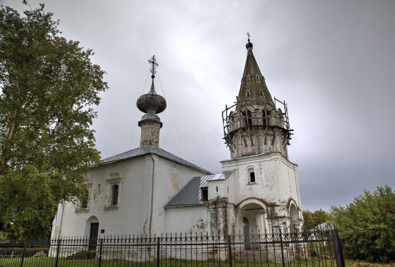 Świątobliwy John kościół baptystów Suzdal obrazy royalty free