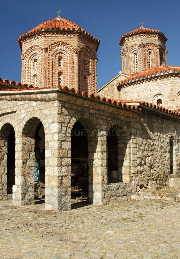 Świątobliwy Naum monaster zdjęcie stock