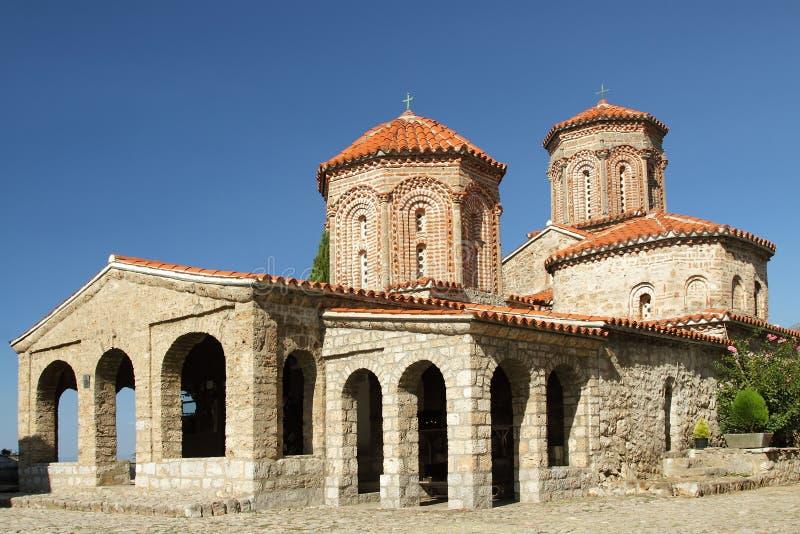 Świątobliwy Naum monaster, Macedonia obrazy royalty free