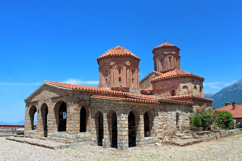 Świątobliwy Naum Monaster (Sv. Naum), Ohrid fotografia stock