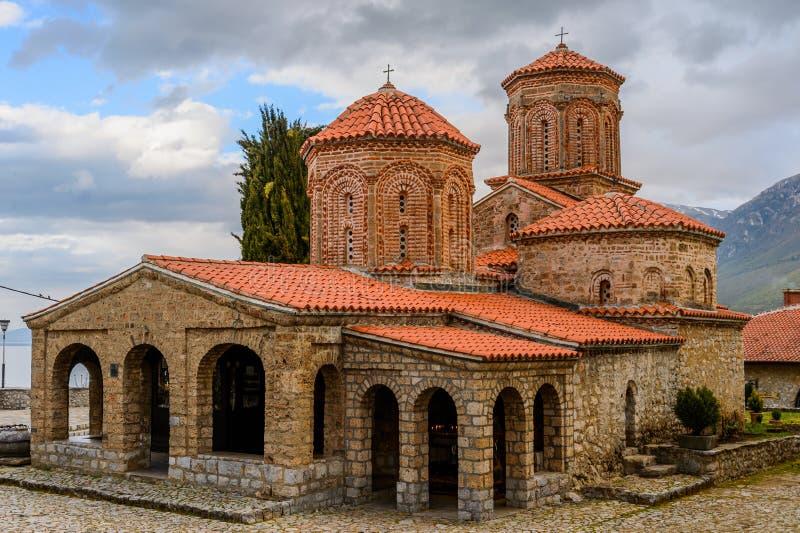Świątobliwy Naum w Macedonia obrazy royalty free