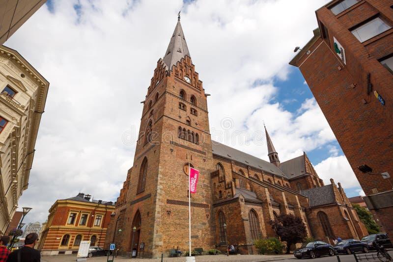 Świątobliwy Peter kościół zdjęcia stock