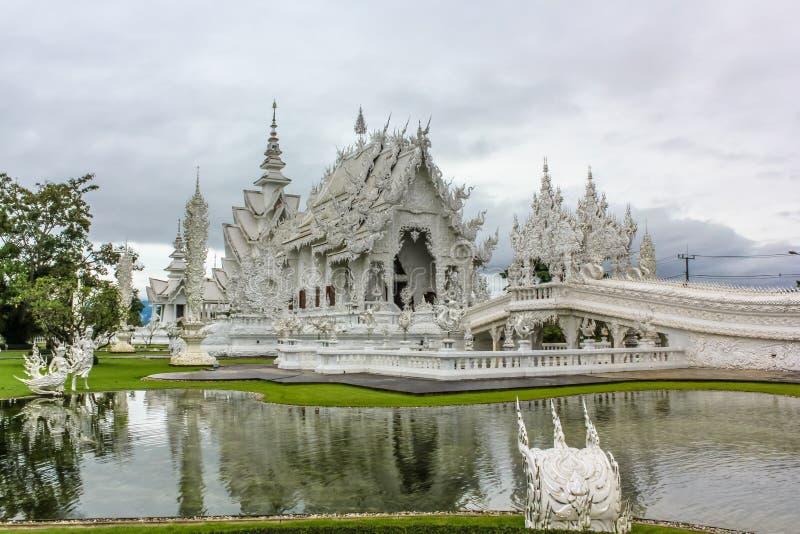 świątyni buddyjskiej white zdjęcia royalty free