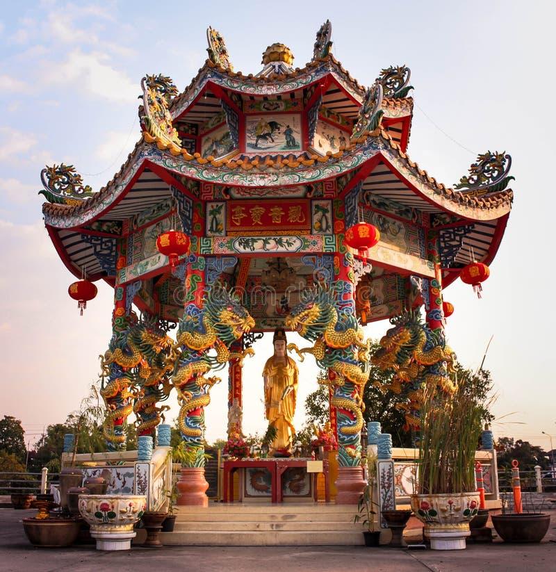 świątyni guan yin obraz royalty free