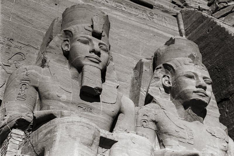 Świątynia Abu Simbel Ramses II, Egipt, Październik, 2002 zdjęcia royalty free