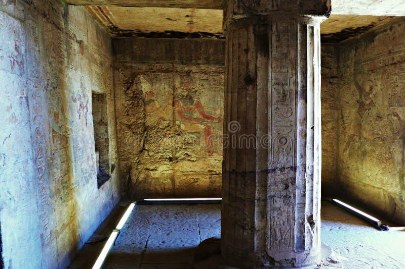 Świątynia Aswan fotografia royalty free