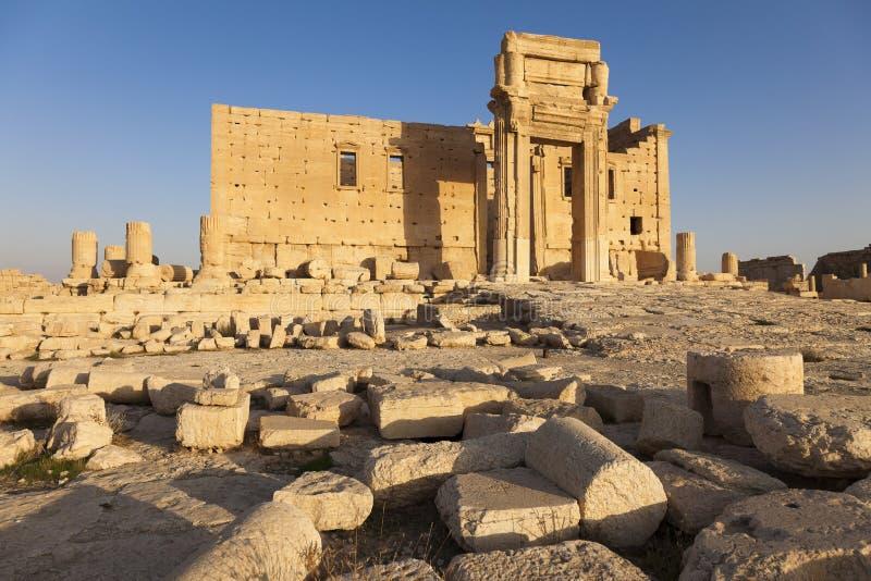 Świątynia bel - Palmyra zdjęcia royalty free