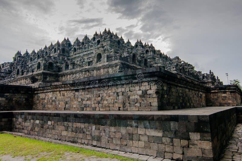 Świątynia Borobudur, Jogyakarta, Indonezja obrazy stock