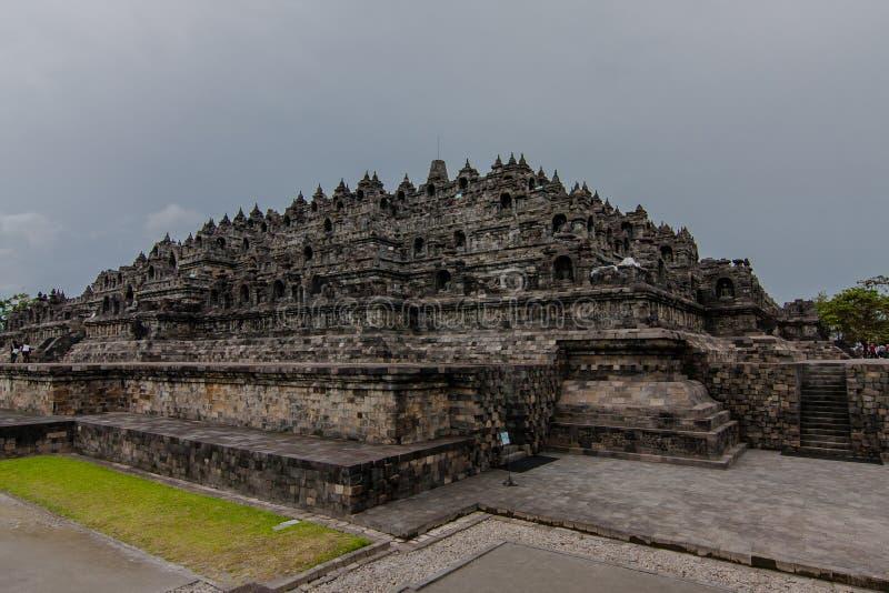 Świątynia Borobudur, Jogyakarta, Indonezja fotografia stock