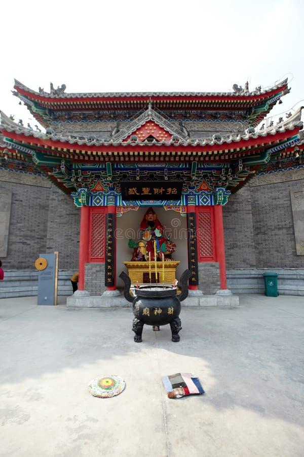 Świątynia dla bóg bogactwo zdjęcie royalty free
