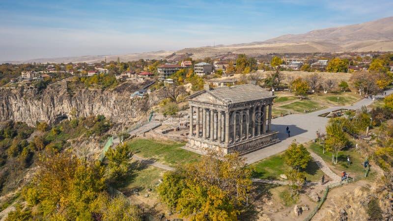 Świątynia Garni w Armenii fotografia royalty free