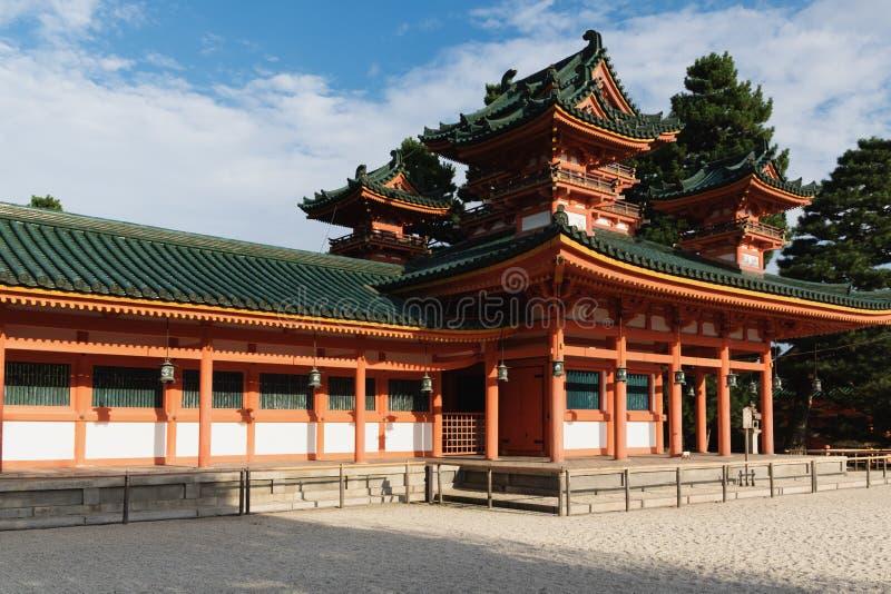 świątynia heian obrazy royalty free