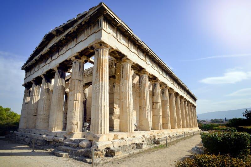 Świątynia Hephaestus obrazy stock