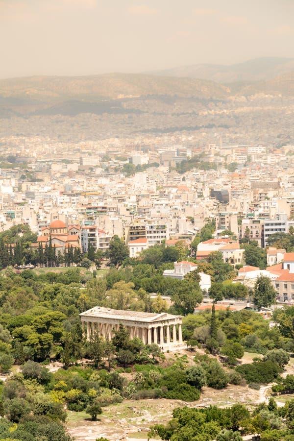 Świątynia Hephaestus, Ateny, Grecja fotografia royalty free