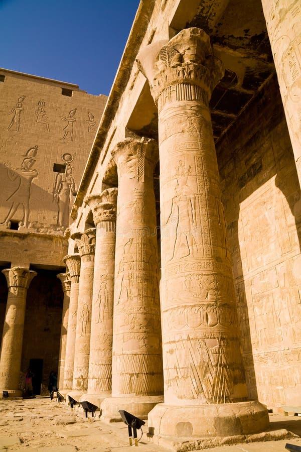 Świątynia Horus w Edfu zdjęcie stock