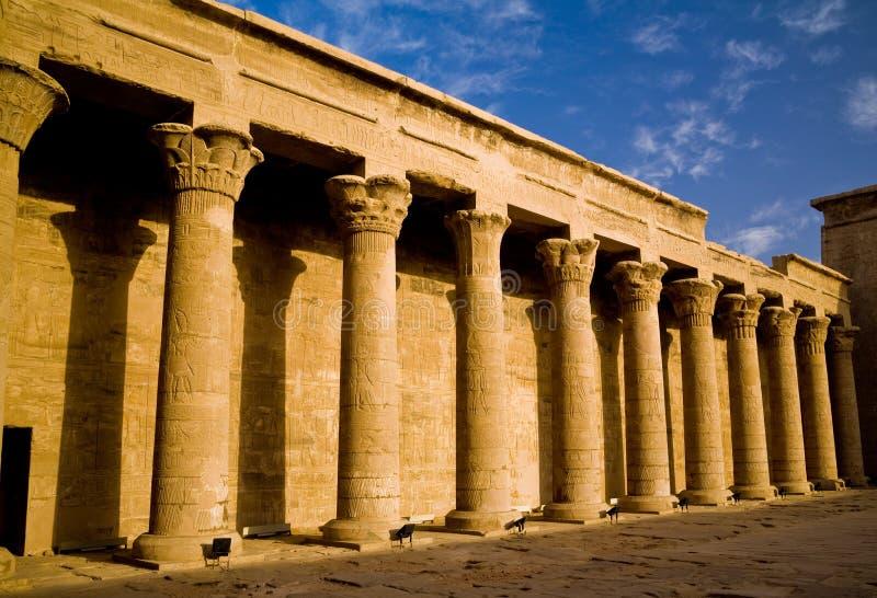 Świątynia Horus w Edfu fotografia royalty free