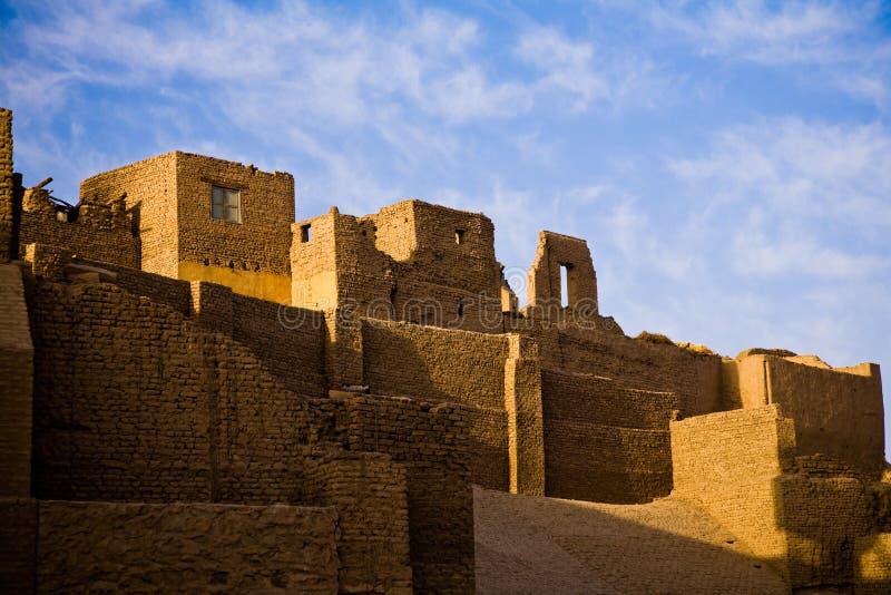 Świątynia Horus w Edfu zdjęcia royalty free