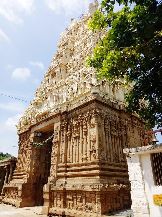Świątynia Indii obrazy royalty free