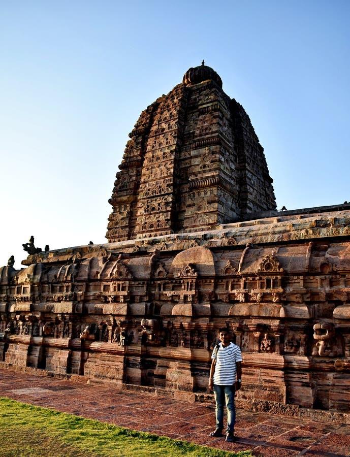 Świątynia Indii fotografia stock