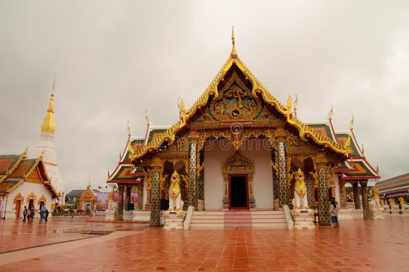 Świątynia jest piękna w Tajlandia dla podróży zdjęcie stock