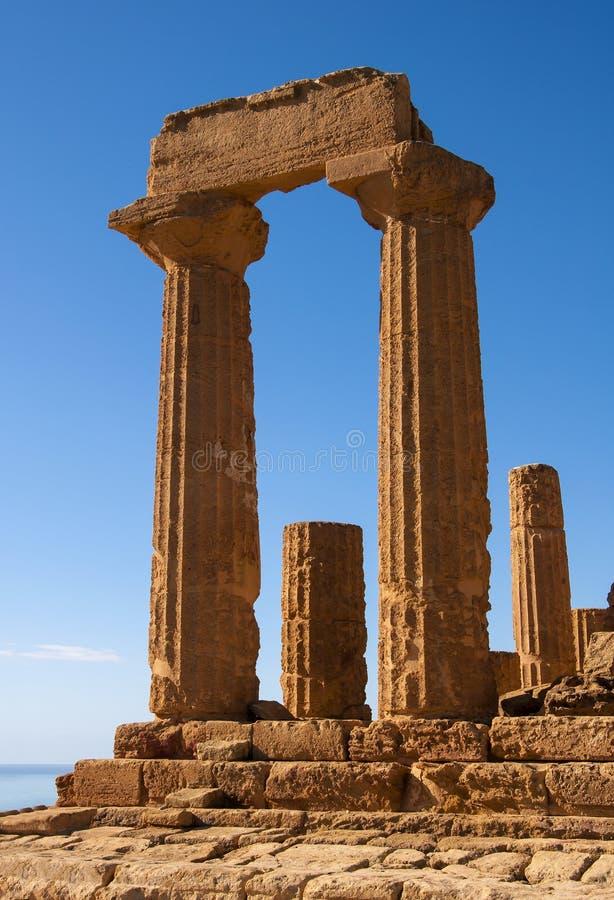 Świątynia Juno zdjęcia stock