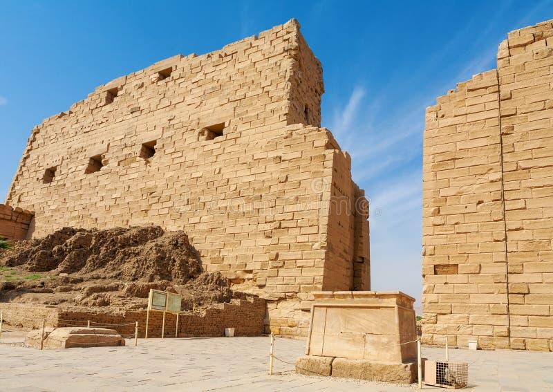Świątynia Karnak. Luxor, Egipt fotografia royalty free