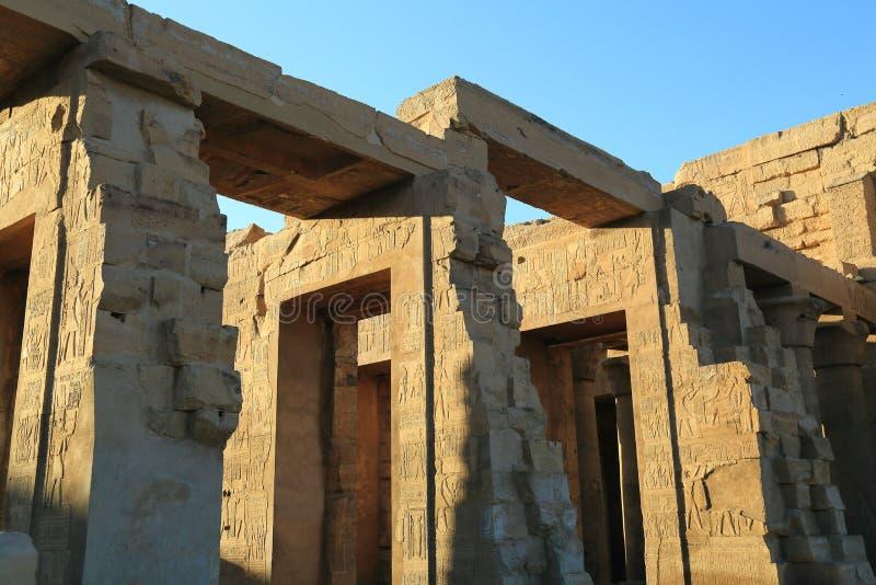 Świątynia Kom Ombo zdjęcie stock