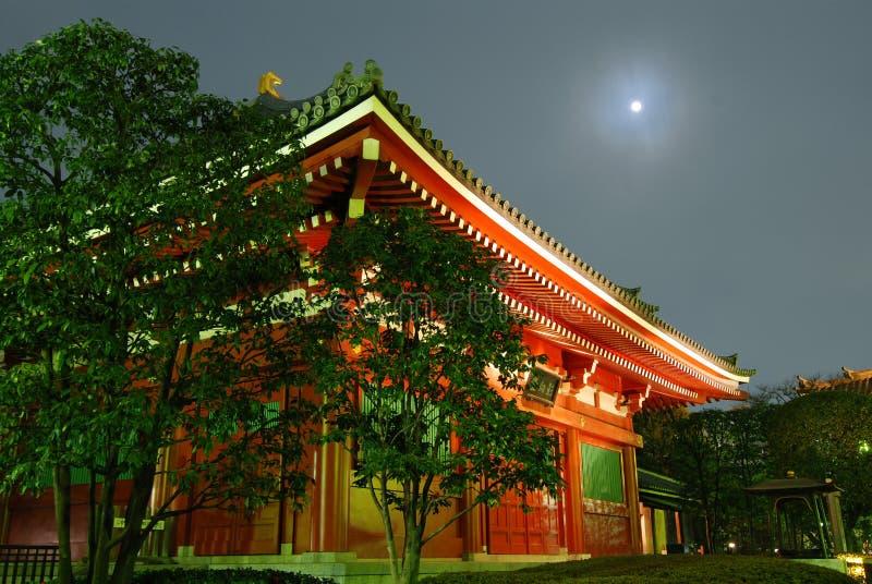 świątynia księżyca fotografia stock
