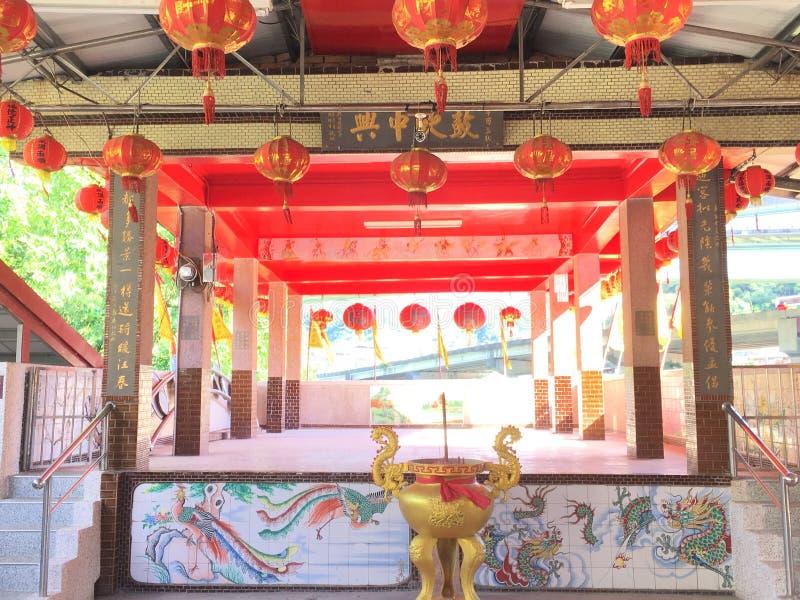 Świątynia lub świątynia, monaster, fotografia stock