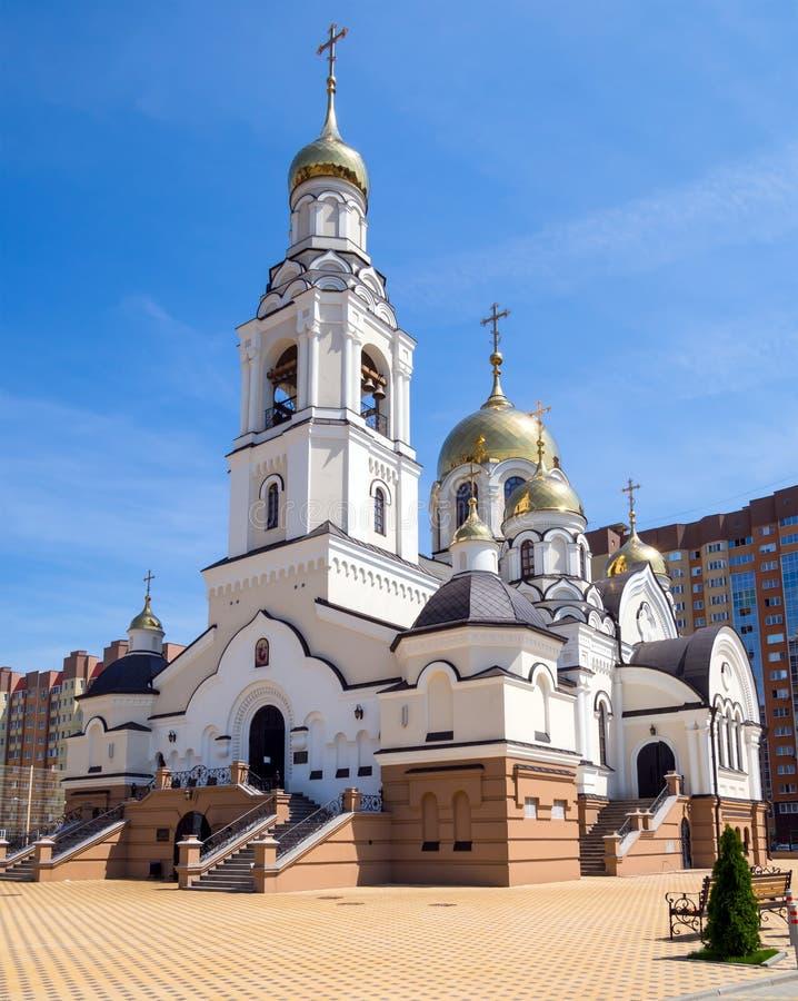 Świątynia na cześć ikonę matka bóg «Vsetsaritsa «miasto Voronezh, Shishk obrazy stock