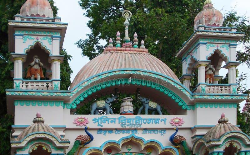 Świątynia na skalistej górze fotografia royalty free