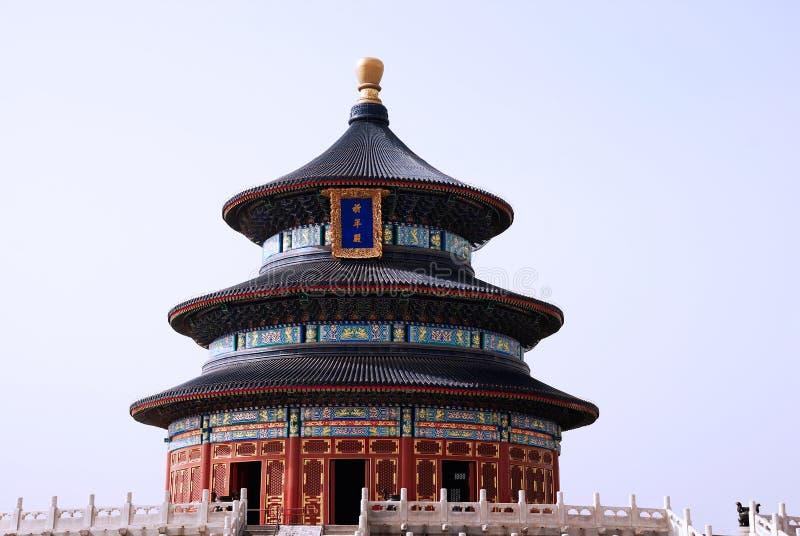 Świątynia Niebo w Chiny zdjęcie royalty free