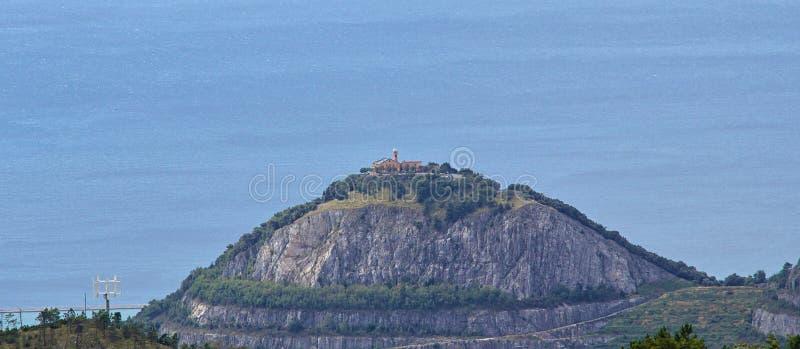 Świątynia Nostra Signora della Misericordia, genua italy Liguria fotografia stock