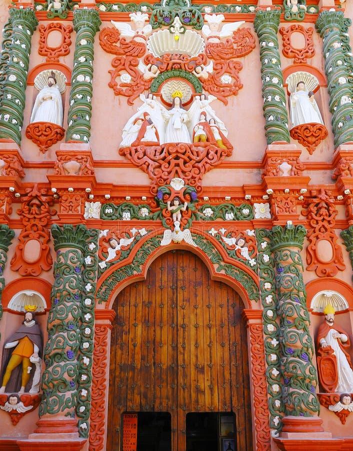 Świątynia nuestra senora de los angeles merced I obrazy stock