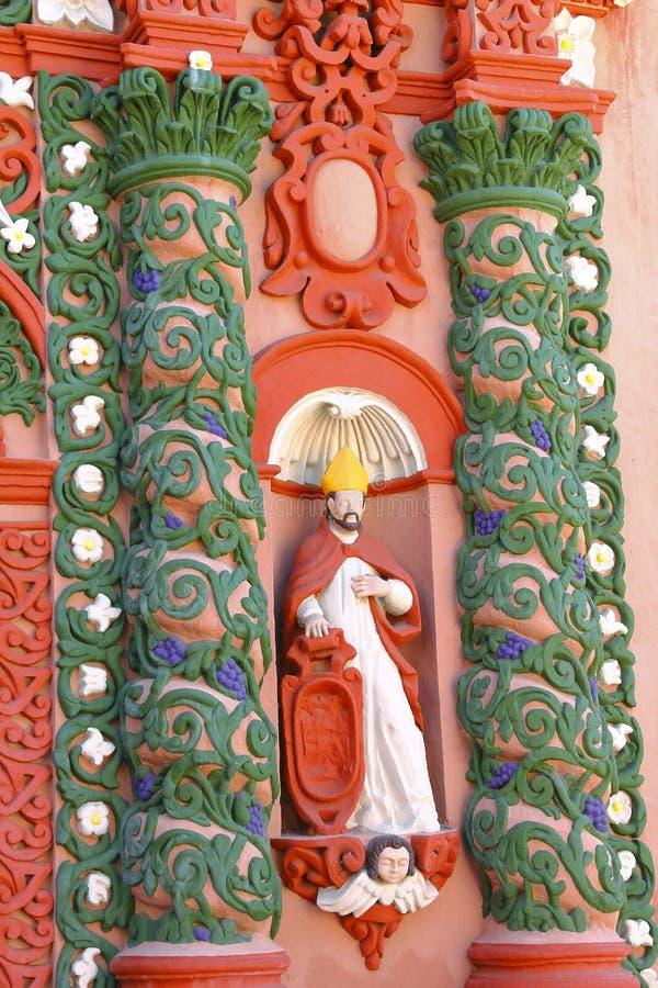 Świątynia nuestra senora de los angeles merced VII obraz stock