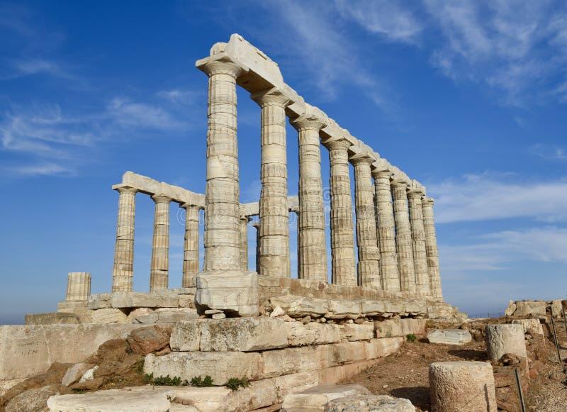 Świątynia Poseidon zdjęcia stock